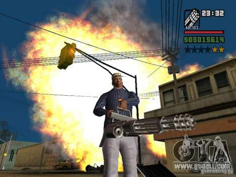 New Realistic Effects for GTA San Andreas