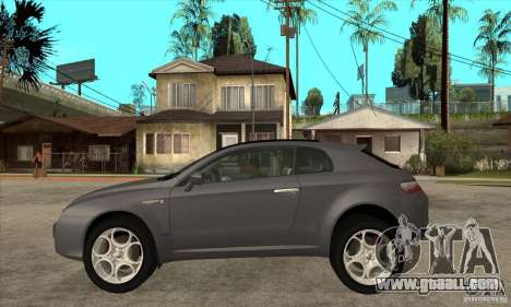 Alfa Romeo Brera of NFSC for GTA San Andreas left view