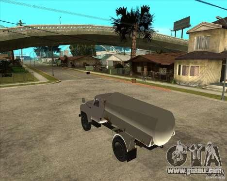 Gaz-52 fuel truck for GTA San Andreas left view