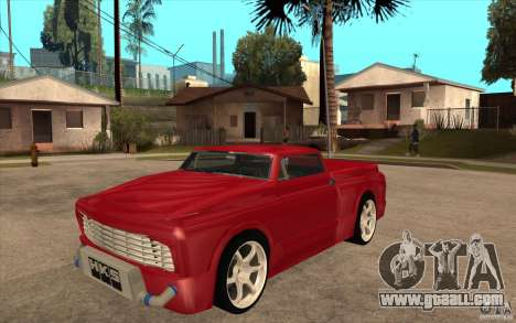 Slamvan Custom for GTA San Andreas