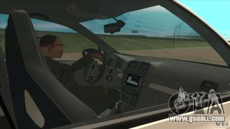 Volkswagen Golf MK6 Hybrid GTI JDM for GTA San Andreas inner view