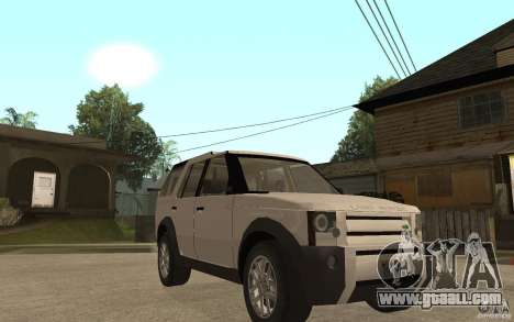 Land Rover Discovery 3 V8 for GTA San Andreas