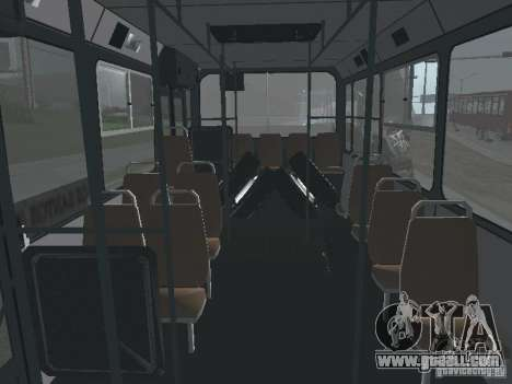 Trailer for Liaz 6212 for GTA San Andreas inner view