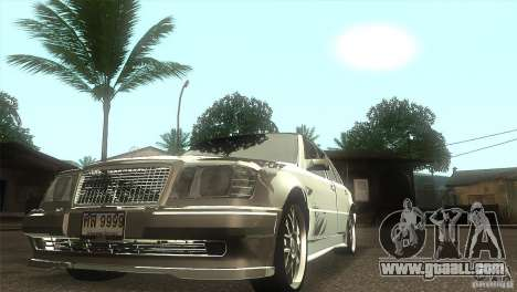 Mercedes-Benz E500 VIP Class for GTA San Andreas back view