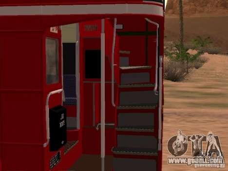 AEC RouteMaster RML for GTA San Andreas inner view