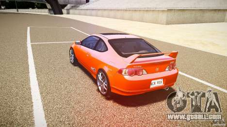 Acura RSX TypeS v1.0 stock for GTA 4 back left view