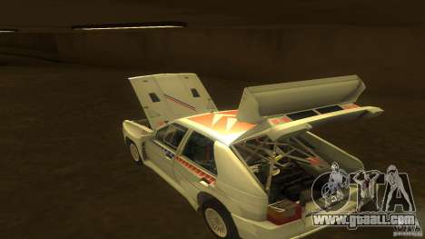Citroen BX 4TC for GTA San Andreas inner view