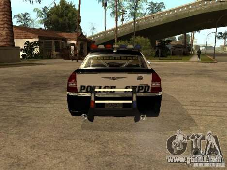 Chrysler 300C Police for GTA San Andreas right view