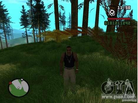 Real Grass v1.0 for GTA San Andreas second screenshot