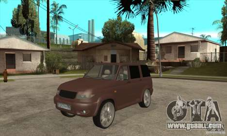 UAZ Patriot for GTA San Andreas left view
