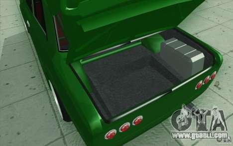 Vaz-2101 Lada Sport for GTA San Andreas interior
