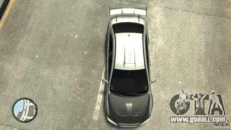 Mitsubishi Lancer Evo X Drift for GTA 4 inner view