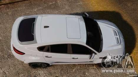 BMW X6 Hamann Evo22 no Carbon for GTA 4 right view