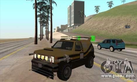 Death Car-death machine for GTA San Andreas