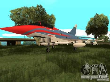 Eurofighter Typhoon for GTA San Andreas