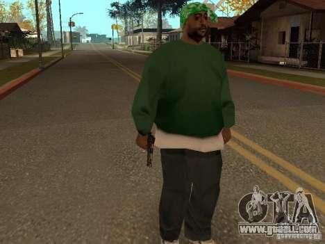 Pistol 9 mm for GTA San Andreas forth screenshot