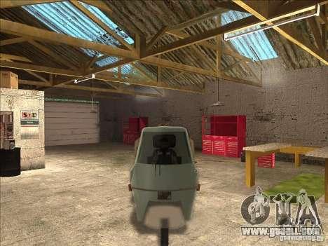 Ape Piaggio for GTA San Andreas