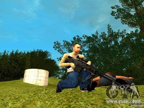 Accuracy International AS50 for GTA San Andreas third screenshot