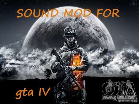 The new sound of shots for GTA 4