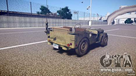 Walter Military (Willys MB 44) v1.0 for GTA 4 side view