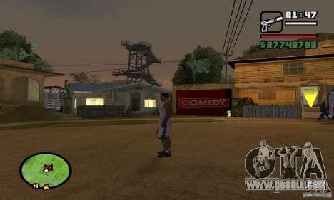 GROOVE STREET BASE for GTA San Andreas third screenshot