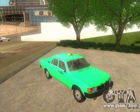 GAZ 31029 taxi for GTA San Andreas