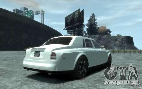 Rolls-Royce Phantom for GTA 4 right view