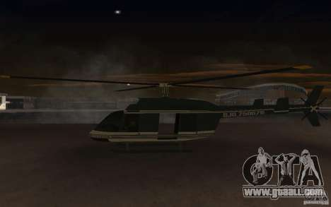 GTA IV Maverick for GTA San Andreas right view