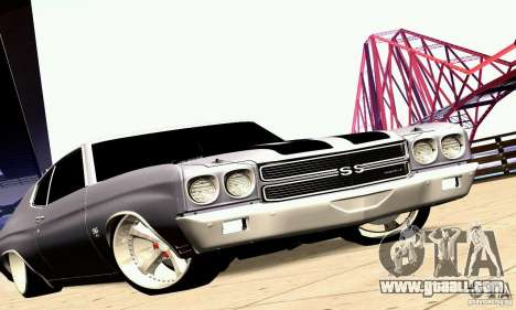 Chevrolet Chevelle 1970 for GTA San Andreas