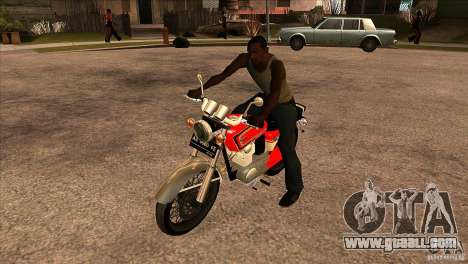 Honda CB 125 for GTA San Andreas