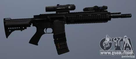 HK416 rifle for GTA San Andreas sixth screenshot