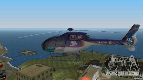 Eurocopter Ec-120 Colibri for GTA Vice City right view