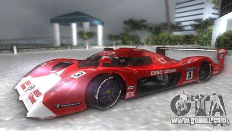 Toyota GT-One TS020 for GTA Vice City right view