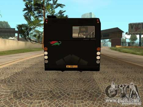 Trailer for Liaz 6213.70 for GTA San Andreas left view