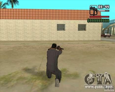 New Micro uzi HD for GTA San Andreas third screenshot