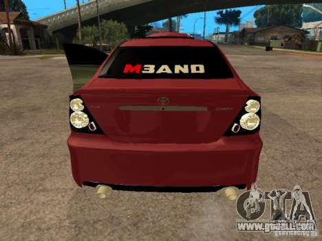 Toyota Camry 2005 TRD for GTA San Andreas back left view