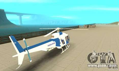 AS-350 Police for GTA San Andreas left view