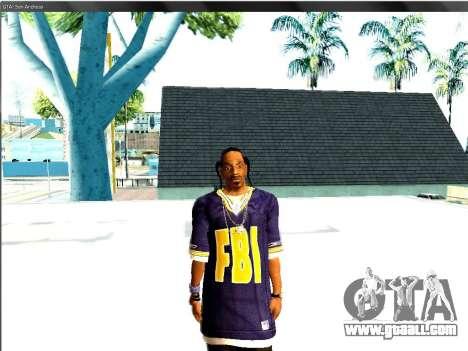 Snoop DoG the F.B.I. for GTA San Andreas second screenshot