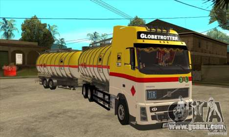 Volvo FH12 for GTA San Andreas back view