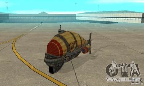 Airship of TimeShift for GTA San Andreas left view