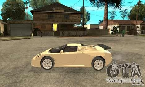Bugatti EB110 SS 1992 for GTA San Andreas left view
