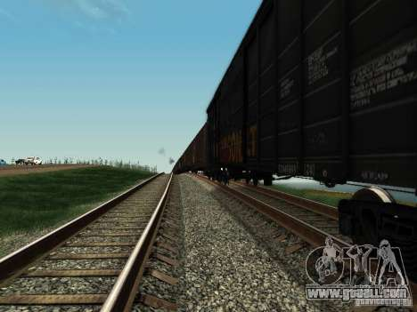 Boxcar for GTA San Andreas left view