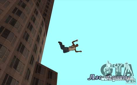 Parachute for GTA San Andreas fifth screenshot