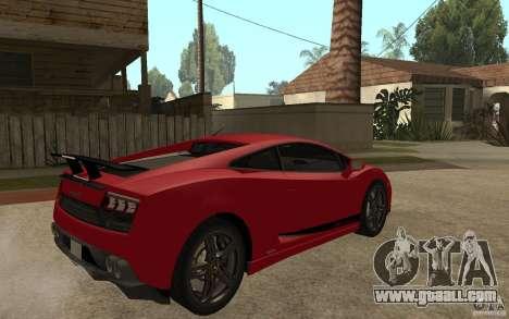 Lamborghini Gallardo LP 570 4 Superleggera for GTA San Andreas right view
