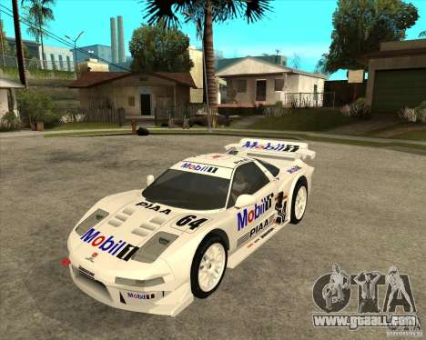 2001 Honda Mobil 1 NSX JGTC for GTA San Andreas