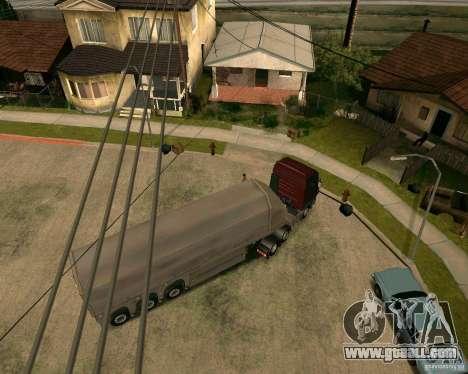 Trailer Steklovoz for GTA San Andreas back left view
