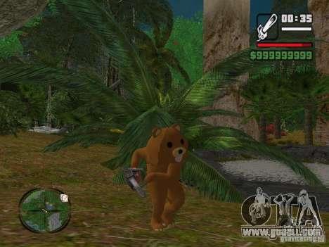 Crazy Bear for GTA San Andreas third screenshot