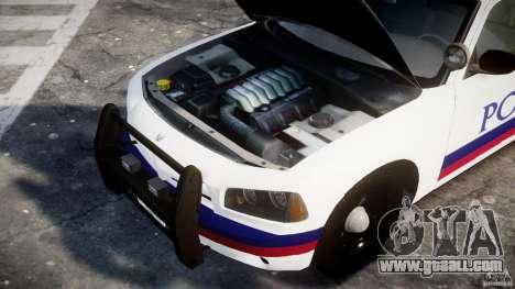 Dodge Charger Karachi City Police Dept Car [ELS] for GTA 4 back view
