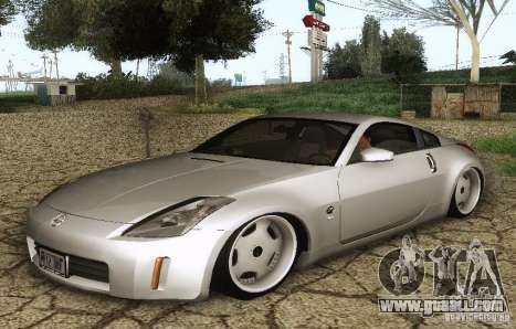 Nissan 350Z Stanceworks for GTA San Andreas