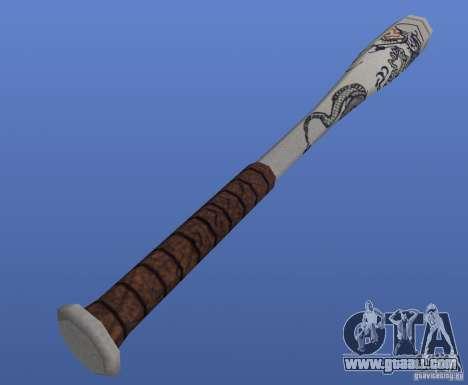 Baseballschlager (The bat) for GTA 4 second screenshot